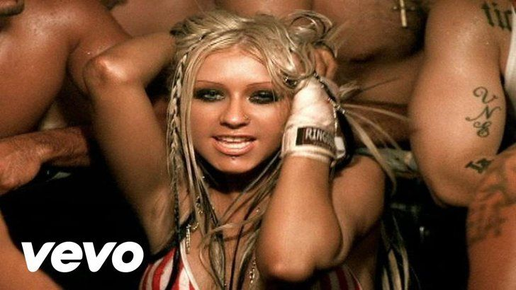 "Pin for Later: On the Prowl? 50+ Iconic Anthems to Play When You're Feeling Flirty ""Dirrty"" by Christina Aguilera ft. Redman"