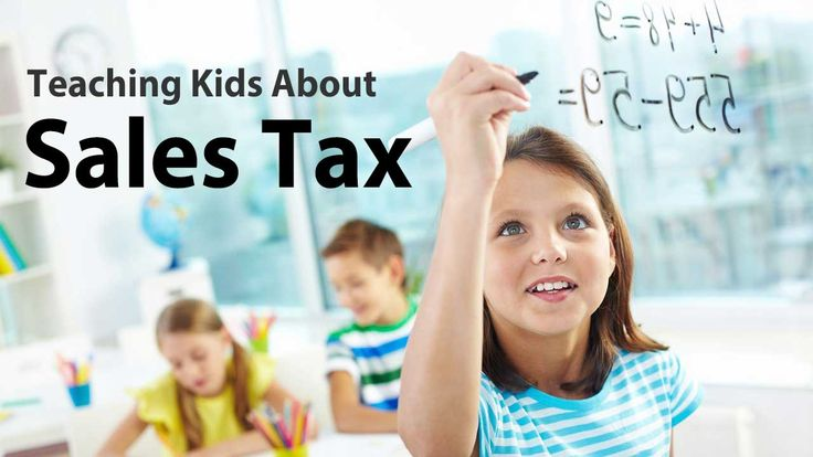 Teaching Kids About Sales Tax - A guide for parents and teachers with example problems.