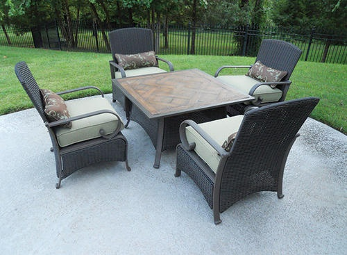 Cambria Deep Seating Collection   5 Piece Set At Menards. Outdoor ...