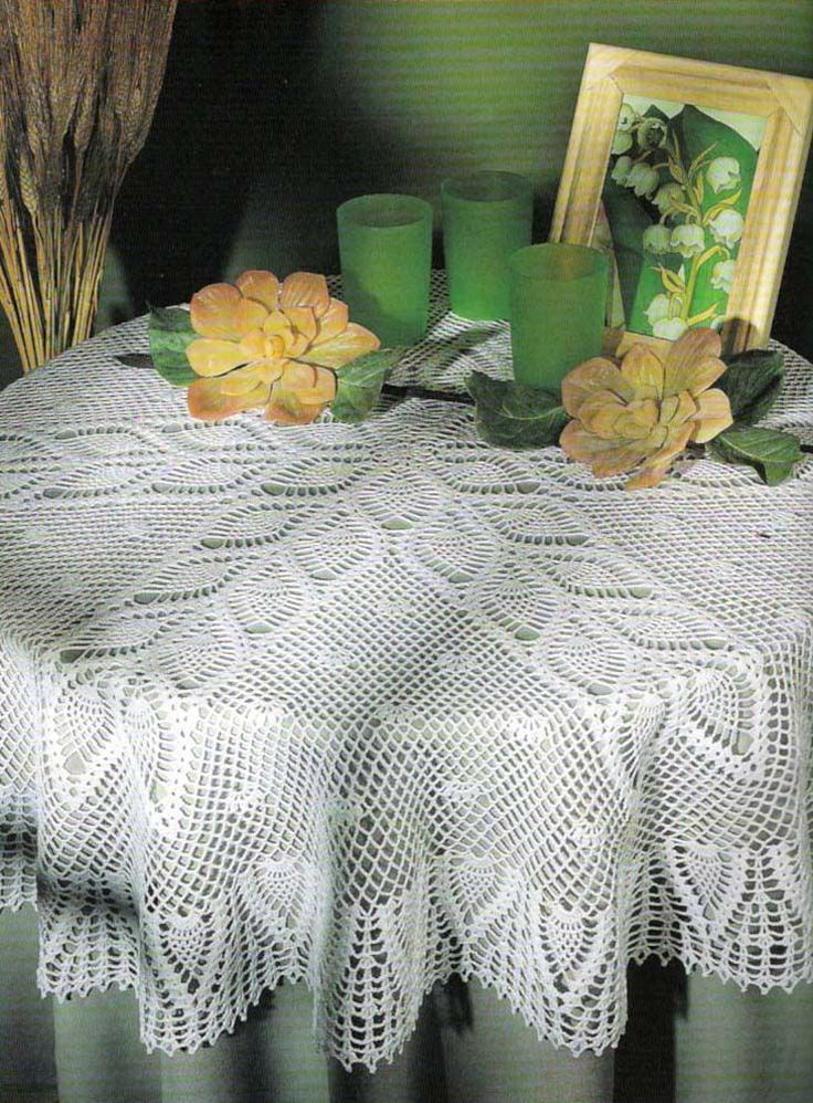 Crochet Round Tablecloth Pattern Amazing Crochet Tablecloth