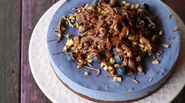 Paleo Choc Blueberry Cake (it's epic!).