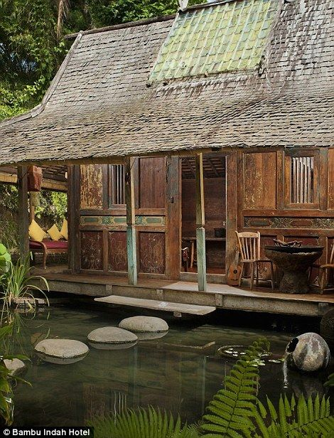 Is this the most unique sleeping quarters ever rustic for Unusual accommodation bali