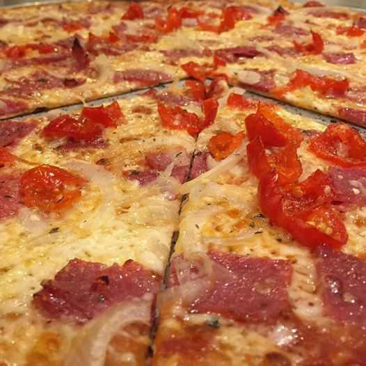 Bring on the heat this January with our The Upper Crust Pizzeria Specialty #Pizza of the Month, the Peppadew and Genoa #Salami Pizza. They have many locations or order online http://ht.ly/GSepB The pie is mildly spicy, a little bit sweet, and absolutely delicious!   Would you like a slice today?   #lunch #dinner #pizzeria