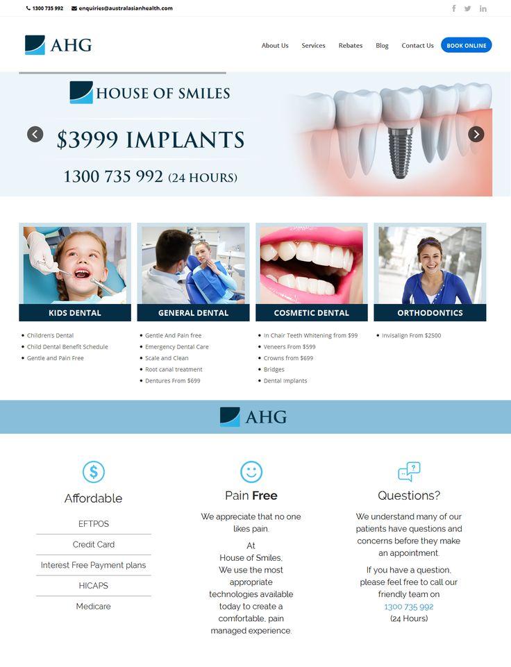 Dental Portal Design and Development