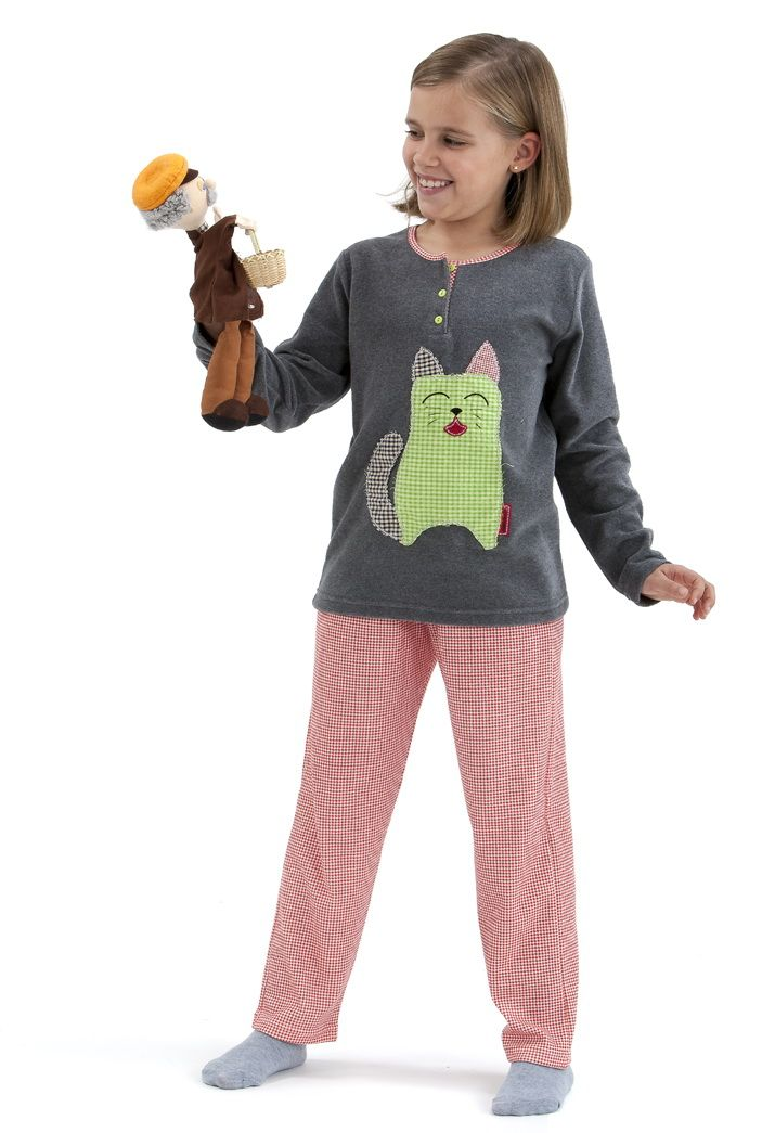 Pijama niña en punto Massana