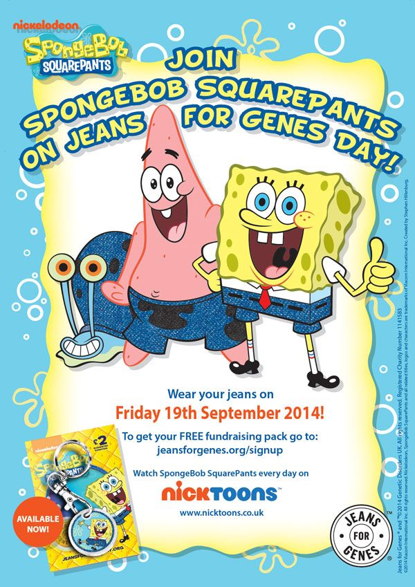 This year's Jeans for Genes Day takes place on Friday 19th September and is aiming to raise £2 million to provide care and support to children with genetic disorders.