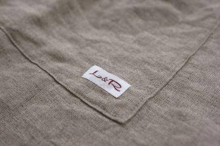 L&R(LINEN&RAMIE):L&R オリジナルリネン生地