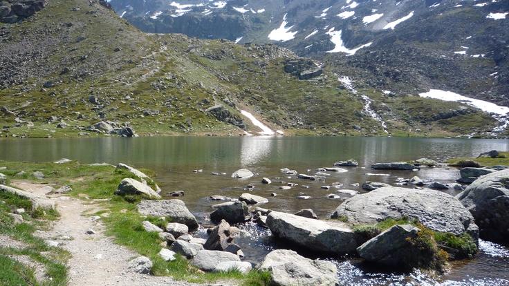 Vers Briançon Alpes.
