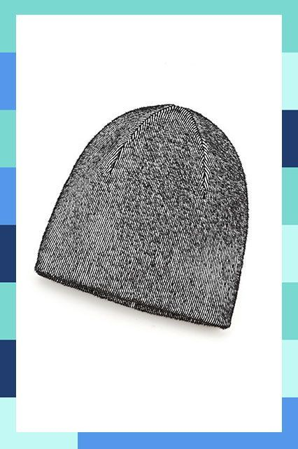 27 Cool Beanies For The Non-Hat Girl #refinery29  http://www.refinery29.com/cool-beanies#slide-3  Black-and-white has never looked so cool....