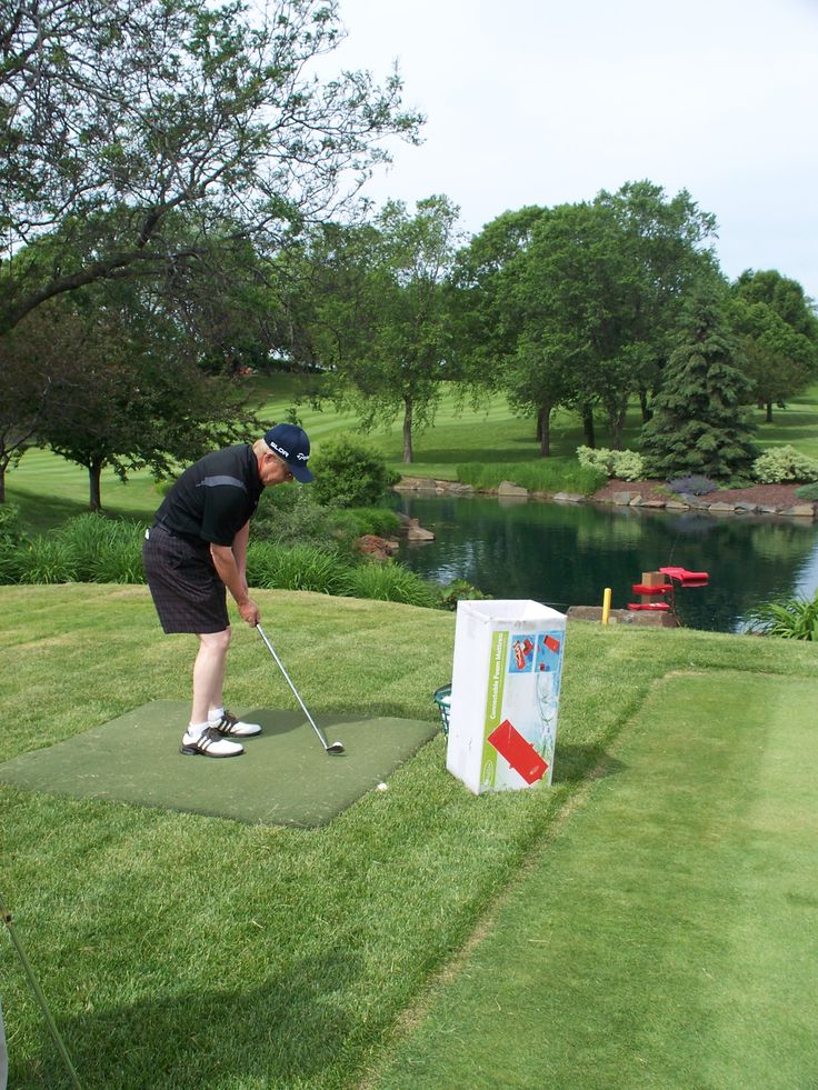 For a different game of fun, have people chip into a cooler ontop of a floating tray.  See the full set at Gayle Force Water Sports.  We used the Float Rope, Saddle Float, Mattress and Cooler Tray.  There were 60 golfers in our tournament.  One got lucky and   chipped into the cooler.  He took home the whole set.  (Golf Tournament Games, Chipping Games, Golf Games)