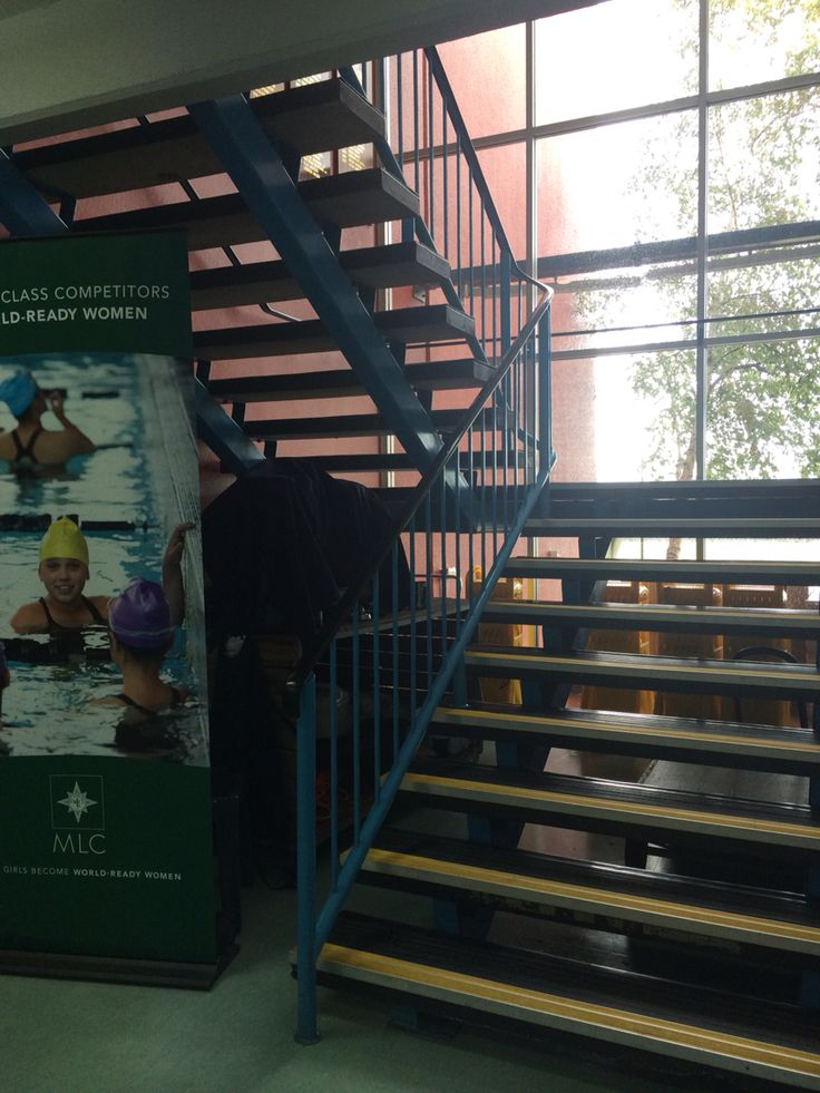 Physical Environement: Stairs instead of a lift or escalator to promote being active around the school