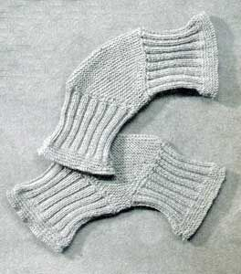 Vintage 1940 Knee-Cap Socks | No. 9316 | Knitting Patterns