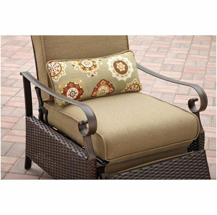 Modern Recliner Chair Garden Lounge Outdoor Patio Furniture Relax Cushion Tan  sc 1 st  Pinterest : patio recliner lounge chair - islam-shia.org