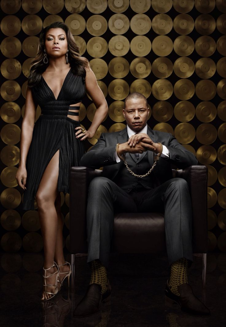 EXCLUSIVE UHQ !!  Season 2 Promo shoot || Taraji P. Henson as Cookie Lyon and Terrence Howard as Lucious Lyon