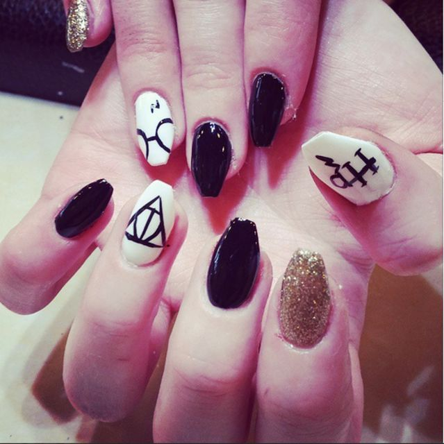 9 best Bomb ass nails images on Pinterest | Anime nails, Nail art ...