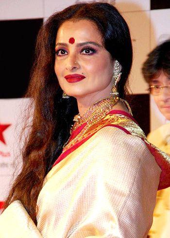 Rekha attends Rajya Sabha!