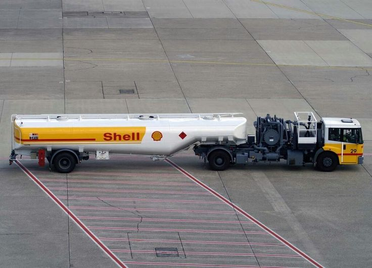 Shell Aviation Fuel Truck, EDDL-DUS, Düsseldorf, 03.08.2007