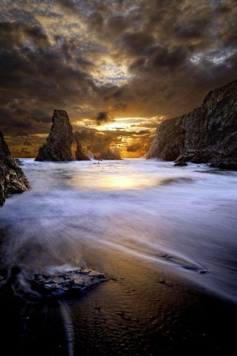 Coton's Sunset by David Keochkerian: Beaches, David Keochkerian, Sunsets, Posts, Cloud, Brown, Beautiful World, Natural, Photo