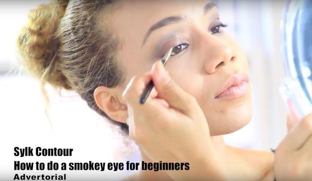 How to Do A Smokey Eye for Beginners   Sylk Contour Eyeshadow Brush Set   Daisi Jo Reviews