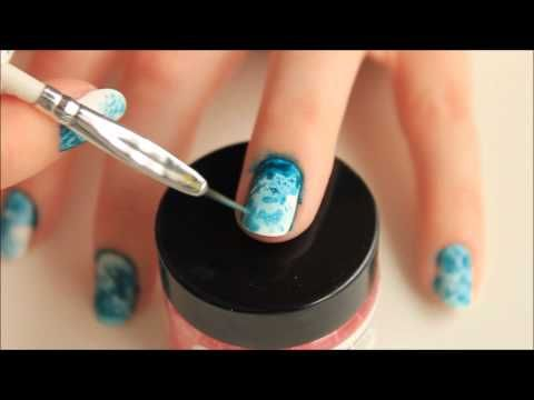 Spektor's Nails: Salted Watercolor Nails - Tutorial - YouTube