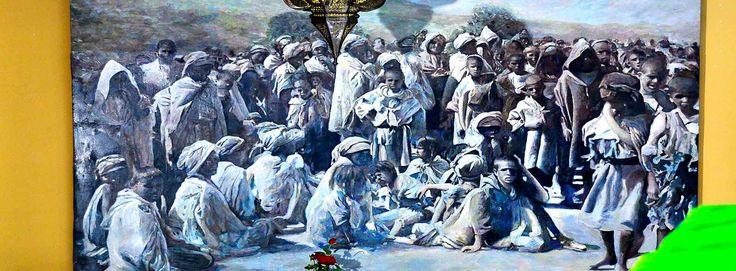 Pintura de David Minguillon en  Riad Aguaviva, Marrakech