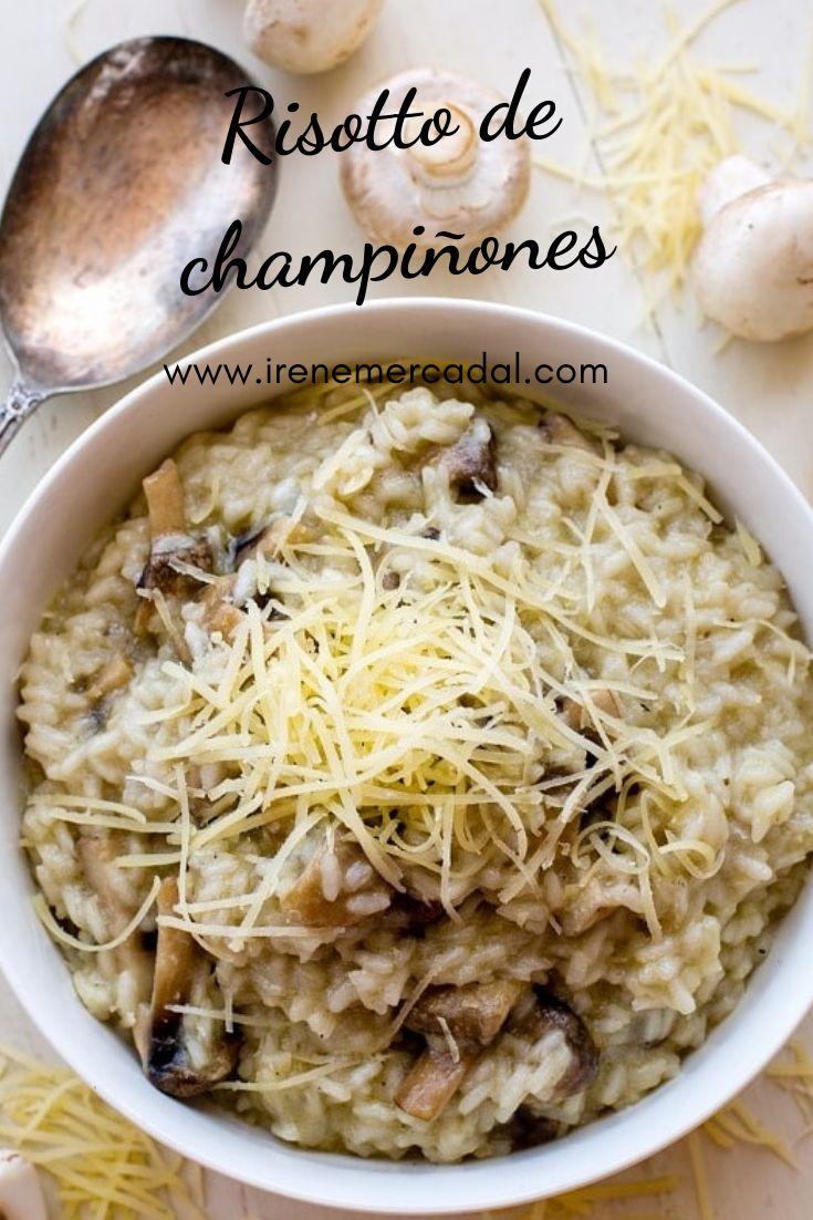 El risotto de champiñones le encanta a todos ¿Quieres ver la receta? #cocinaitaliana #recetarisoto #recetarisotto Veggie Recipes, Asian Recipes, Cooking Recipes, Good Food, Yummy Food, Tasty, My Favorite Food, Favorite Recipes, Riced Veggies
