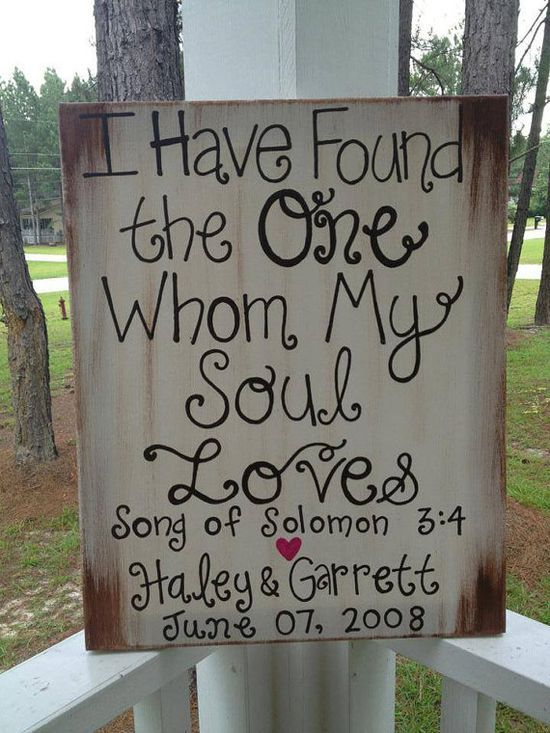 Rustic Wedding Sign Decoration by jgcreationsbyjg on Etsy, $25.00 (would be super easy to make #Wedding Photos