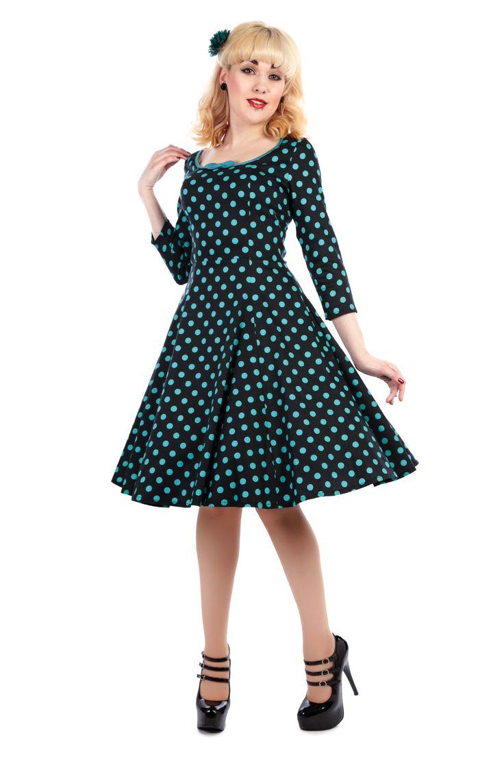 Willow Polka Dot Doll Dress