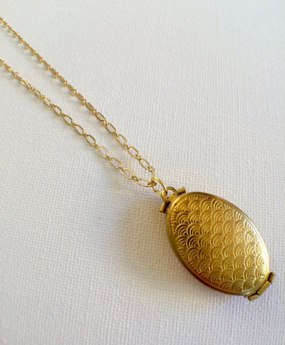 Folding Four Photo Locket // Brass Multi by PERCIVALandHUDSON