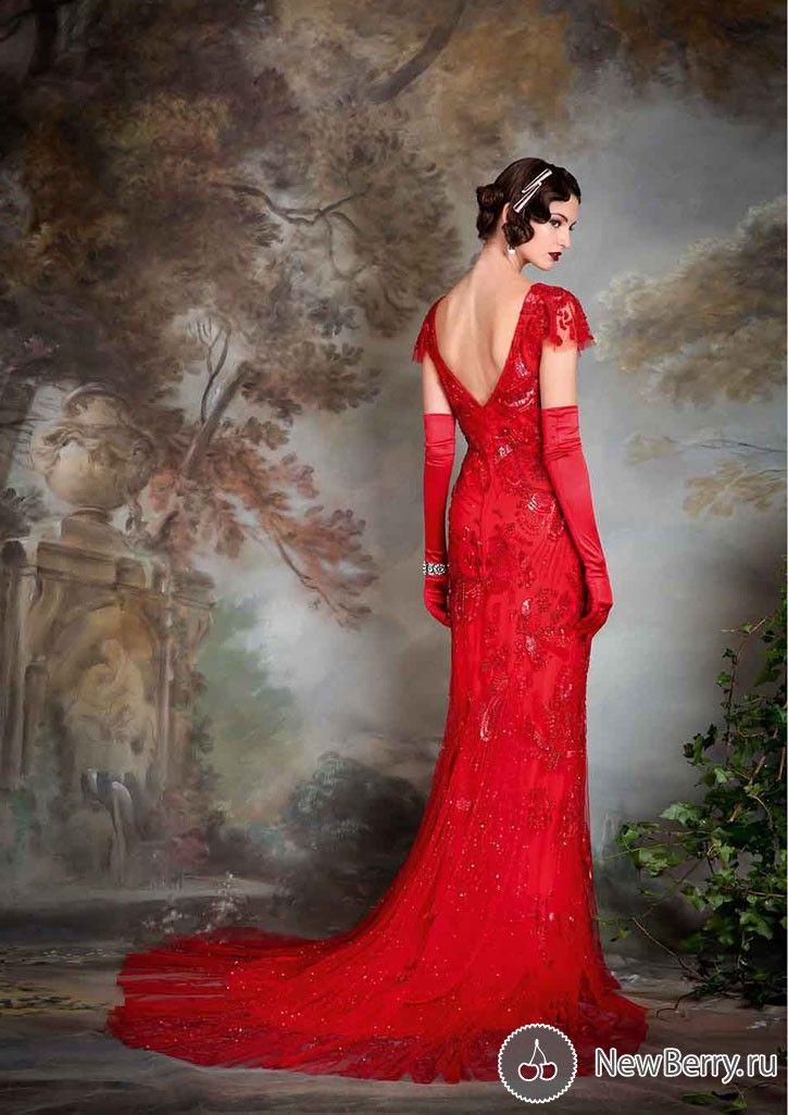 Wedding Dress Eliza Jane Howell 2015 Red Vintage