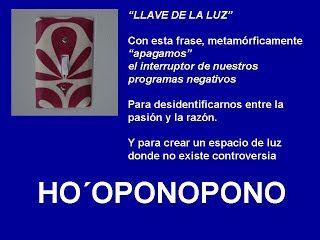LLAVE DE LUZ - HOOPONOPONO EL PODER DEL AMOR