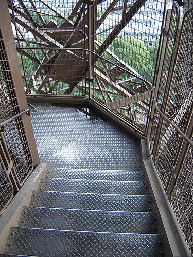 Top Of Eiffel Tower Stairs : Best images about architecture on pinterest