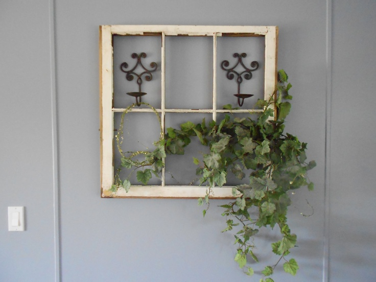 17 Best images about decorating old windows remade on