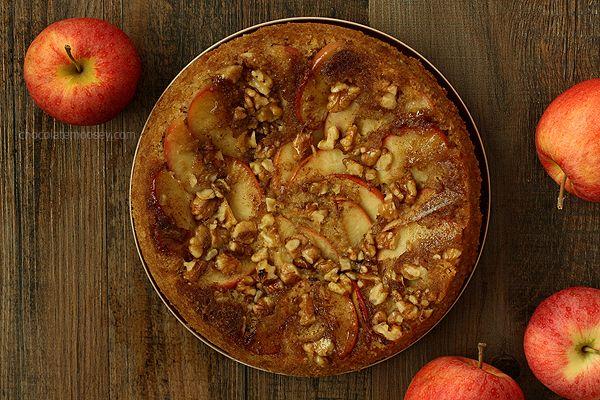 apple walnut upside down spice cake cinnamon spice spice cake upside ...