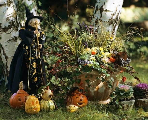 Decoración de Jardines para Halloween - Para Más Información Ingresa en: http://jardinespequenos.com/decoracion-de-jardines-para-halloween-moderno/