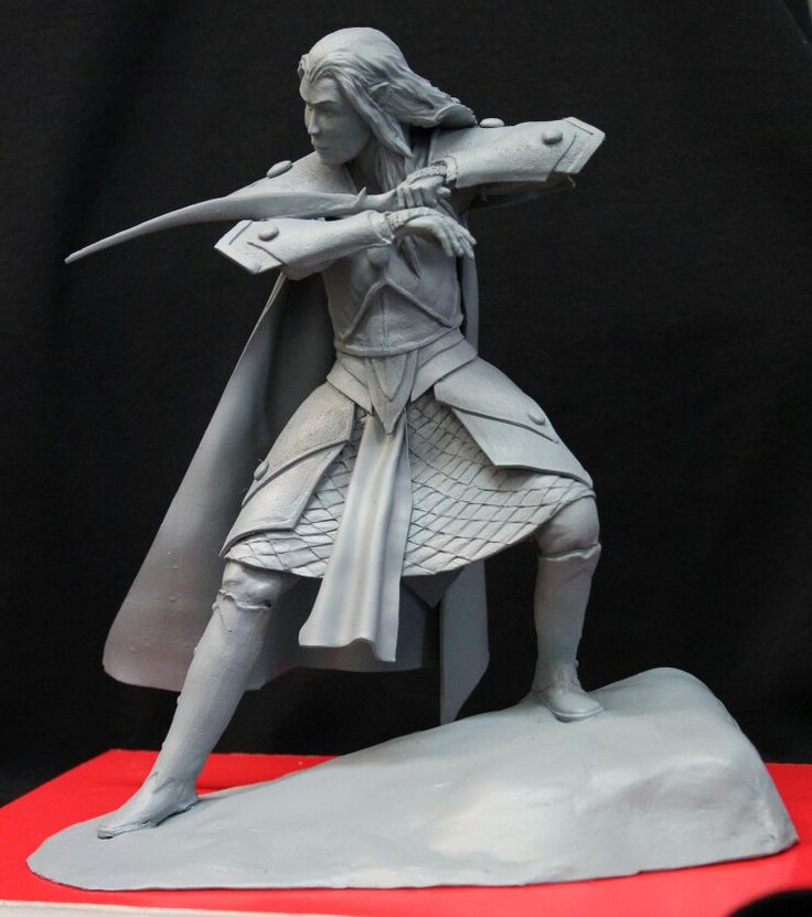 Elf sculpted