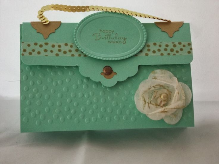 Stamping Craft: Handbag card