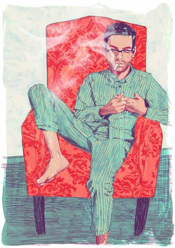 Jonny Ruzzo - J.D. Salinger's Nine Stories Illustrations
