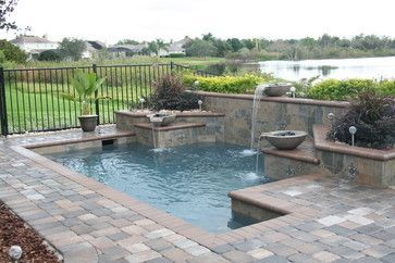 Spool Pool Design Ideas, Pictures, Remodel and Decor
