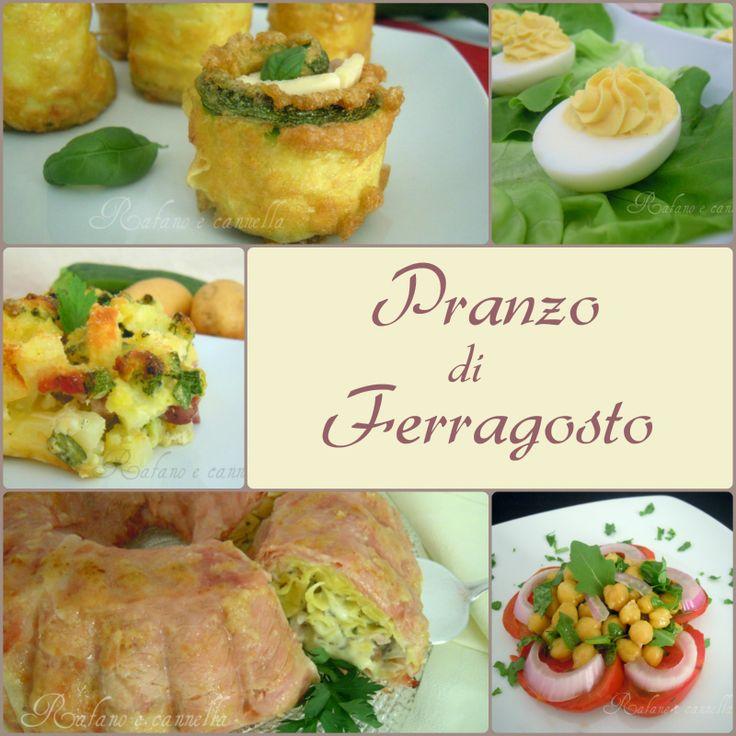 Pranzo di Ferragosto http://blog.giallozafferano.it/rafanoecannella/menu-di-ferragosto/