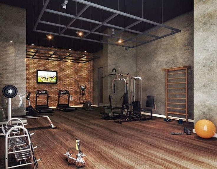 Getting Into Shape Doesn T Mean You Have To Go To A Gym Weekly And Work Out You Can Actually Get Plenty Of Home Gym Basement Gym Room At Home Home