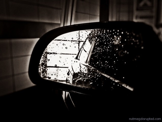 rearview reflection