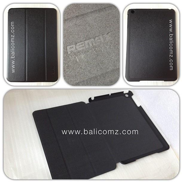 Remax iPad Mini Pure Colour Series Case:     Case berkualitas tinggi, dengan bahan yang sangat baik, finishing sangat rapih, banyak dijumpai di toko-toko gadget premium.     Pilihan Warna: Black, Brown, Red, Blue