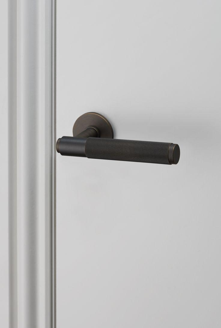 DOOR LEVER HANDLE / SMOKED BRONZE by Buster + Punch.