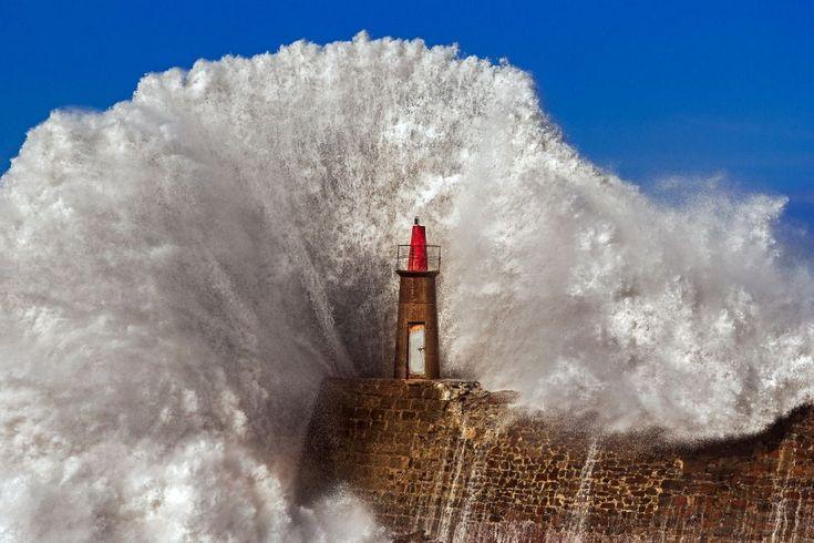 El temporal en Asturias | Fotogalería | Política | EL PAÍS Puerto de Viavélez, en el municipio de El Franco en Asturias