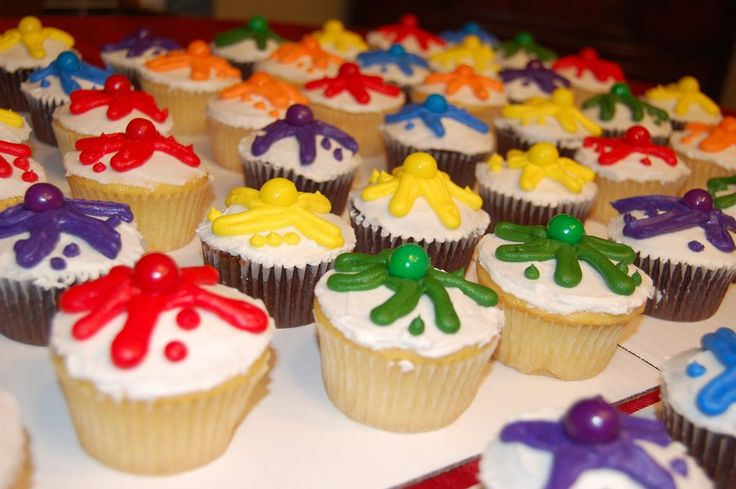 Paintball Cupcakes  on Cake Central