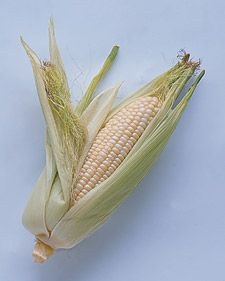 Want to remove silky threads from corn? With the husk still on, rinse the corn and then microwave for about 45 seconds. The silk should peel...