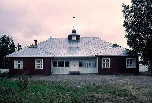 Alajärvi, Nuorisoseuran talo. Alvar Aalto 1919.