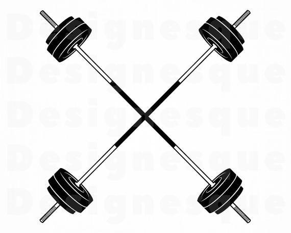 Barbell Logo Svg Barbell Svg Weights Svg Bodybuilding Svg Etsy In 2021 Crossfit Logo Svg Barbell