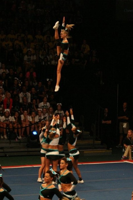 All star cheer | the cheerleading worlds | worlds | sport | sports | Maddie Gardner; I wish we could do this...